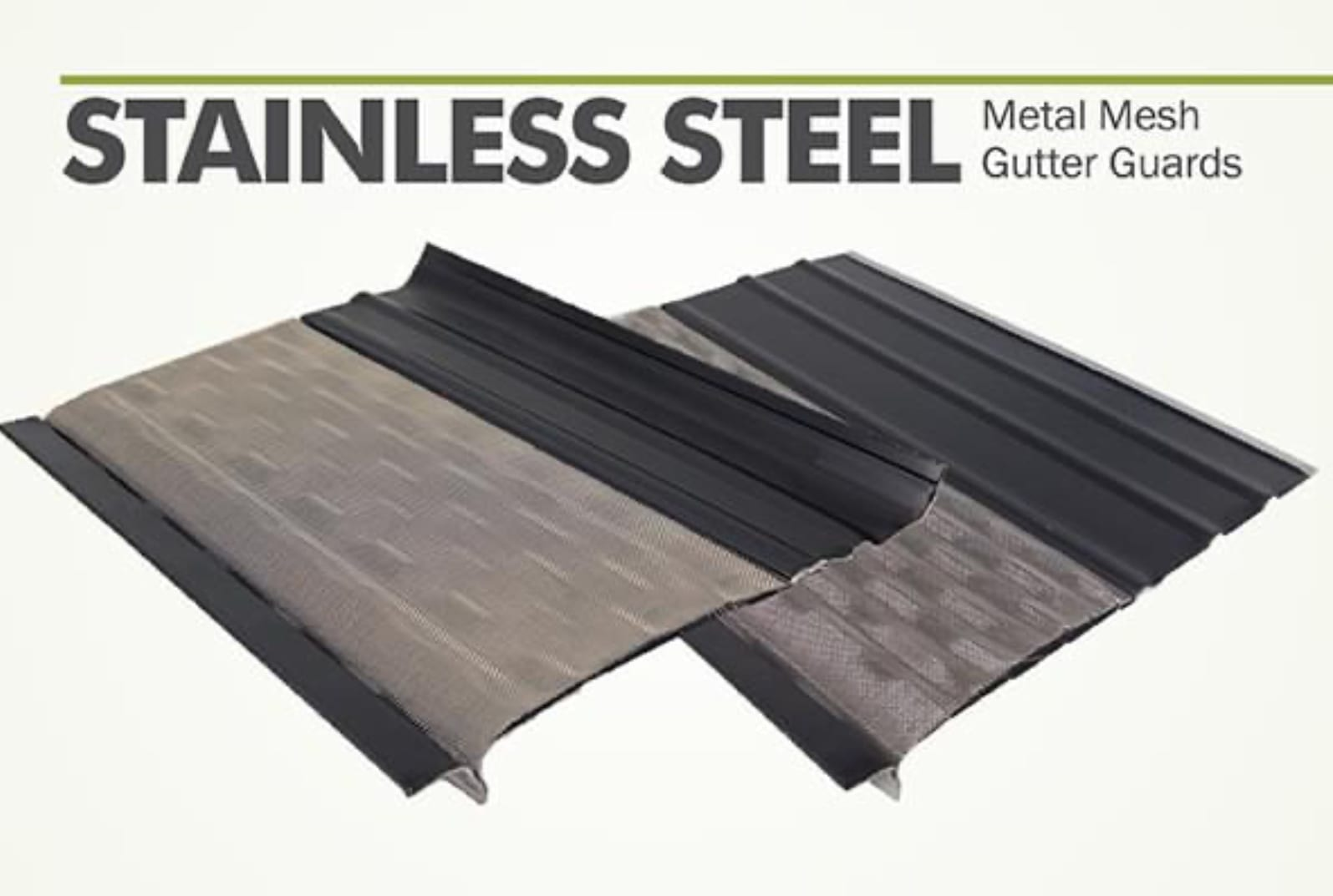 Stainless Steel Leaf Guards